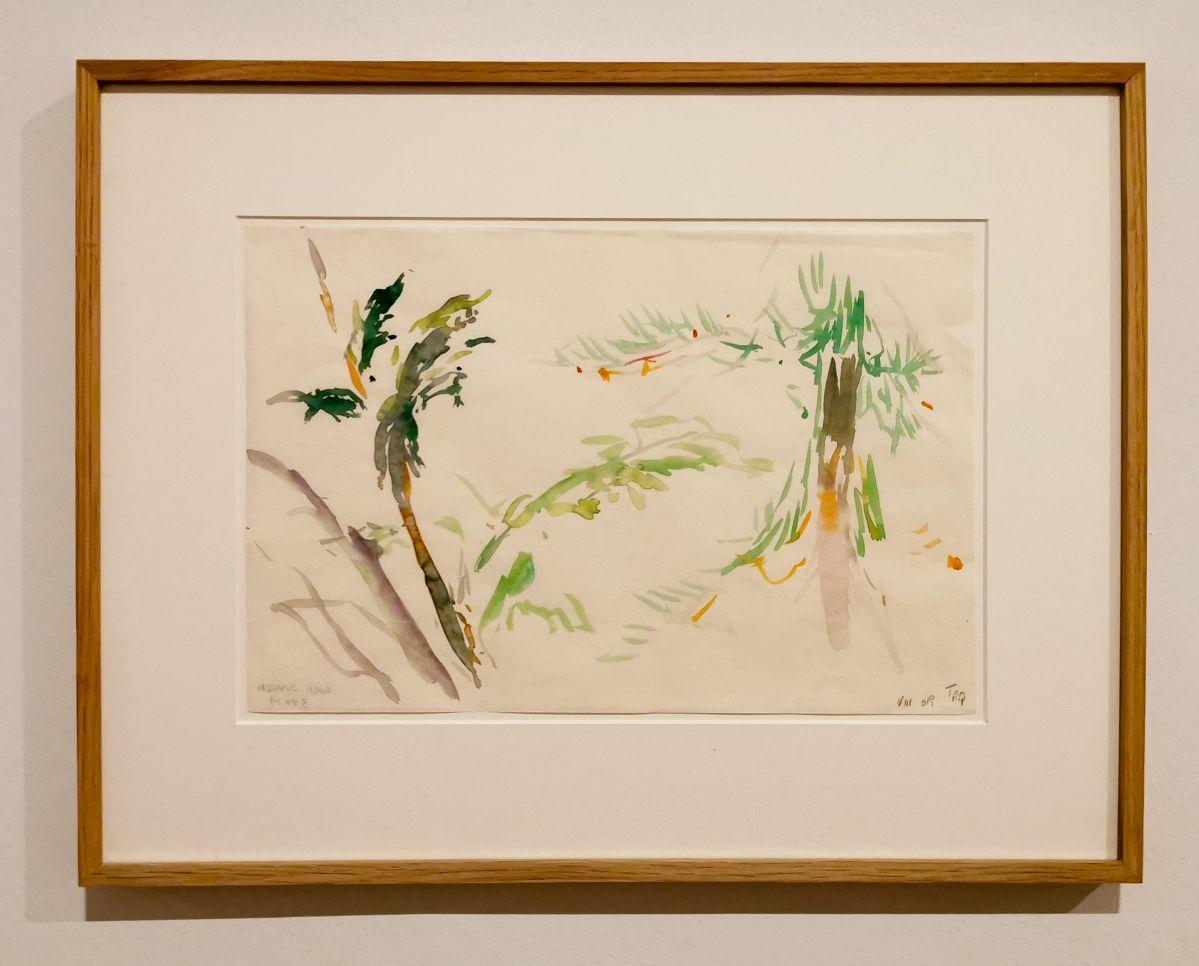 Gérard Traquandi - Dessins et aquarelles «Ici, Là» au Musée Cantini - Marseille