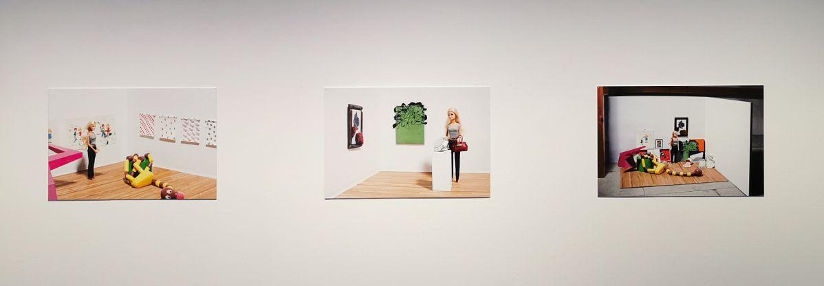 Stéphane Kouchian - Barbie, visite au Musée (2008-2016) - «Petroleum» à l'Espace Saint-Ravy - Montpellier