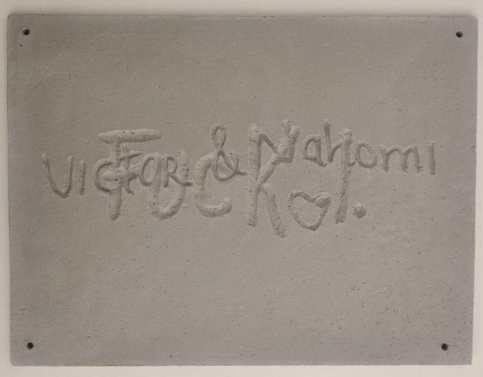 Agnès Fornells - Victor & Nahomi, 2020 - Telle est l'étoffe dont les rêves sont faits à la Galerie ALMA