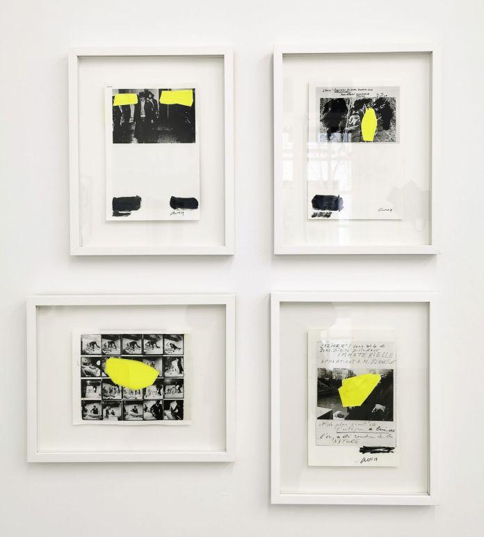 Georges Autard - La forme informe, 2019 (Beuys, Beuys, Otto Muehl et Klein) - Telle est l'étoffe dont les rêves sont faits à la Galerie ALMA