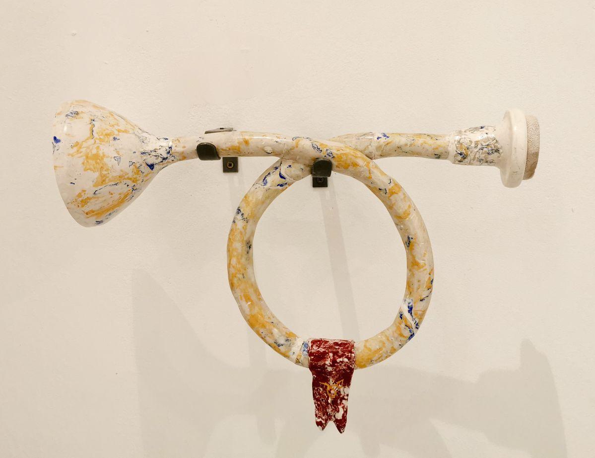 Lucian Moriyama - False Trumpet, 2020 - «La Relève III - Habiter » au Château de Servières