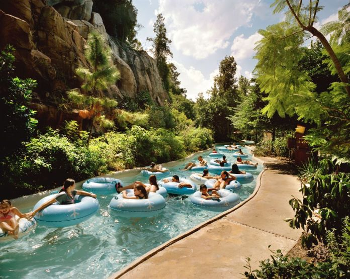 Reiner Riedler, Rivière sauvage, Floride, série Fake Holidays [Fausses vacances], 2005 © Reiner Riedler