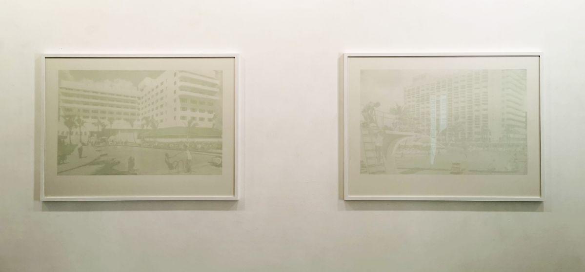 Paul Chochois - Le sans souci et AMERICANA, 2021 - «Crossover» à la Galerie Vasistas - Montpellier