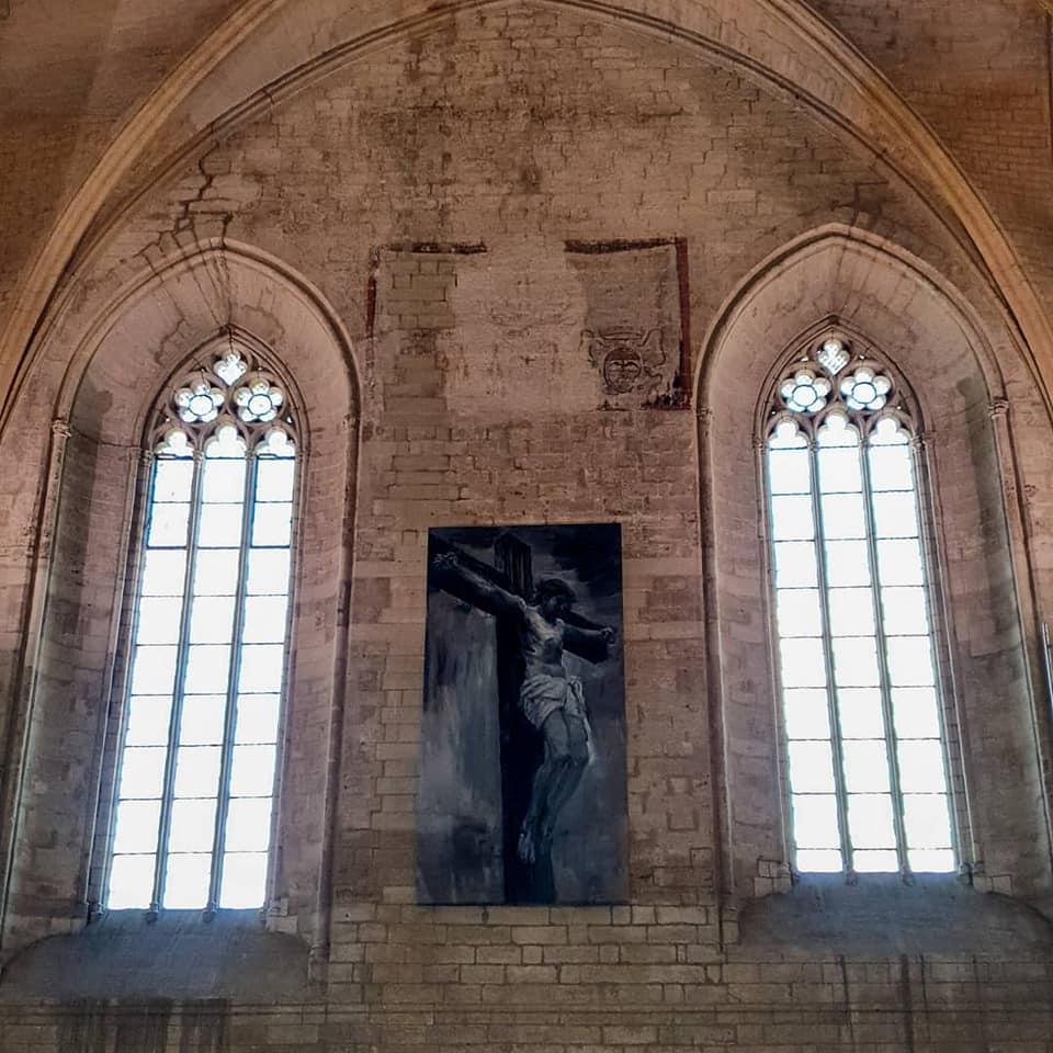 Yan Pei-Ming - Palas des Papes Avignon - Photo Palais des Papes