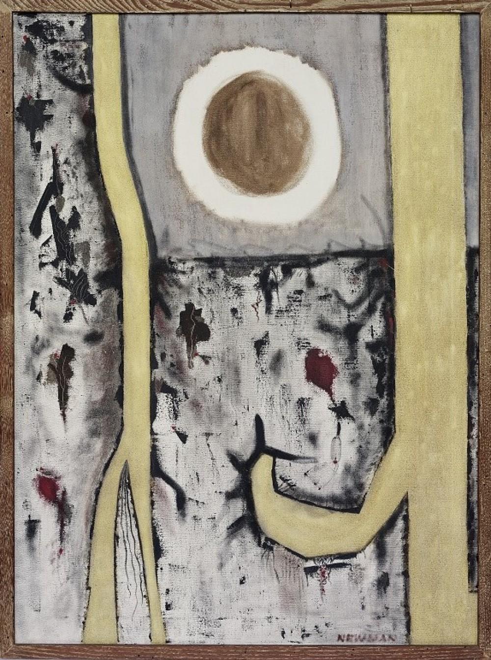 Barnett Newman - Genetic Moment, 1947