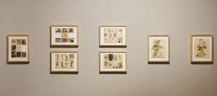 Dessins collectifs, 1940-1941 - La Villa Air-Bel - les surréalistes à Marseille (1940-1941) - Le surréalisme dans l'art américain à la Vieille Charité