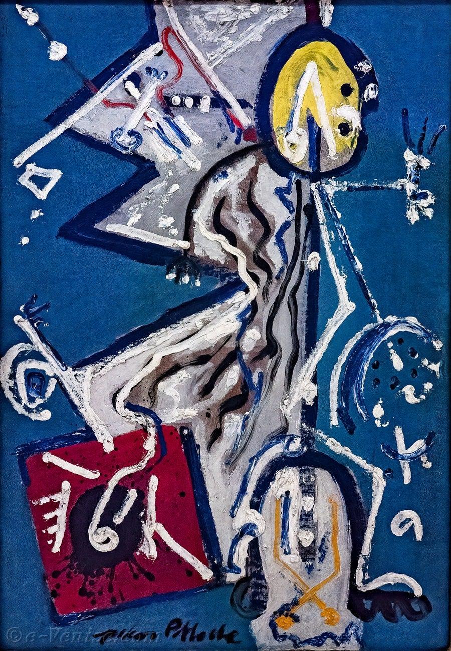 Jackson Pollock - Direction, Octobre 1945
