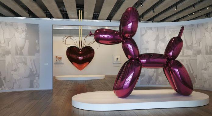 Jeff Koons au Mucem - Œuvres de la Collection Pinault - Salle 4 et 5 - vue de l'exposition