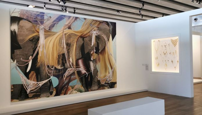 Jeff Koons au Mucem - Œuvres de la Collection Pinault - Salle 7 - vue de l'exposition