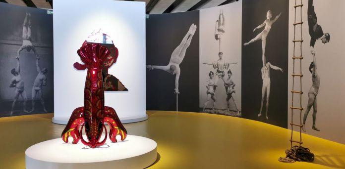 Jeff Koons au Mucem - Œuvres de la Collection Pinault - Salle 9 - vue de l'exposition