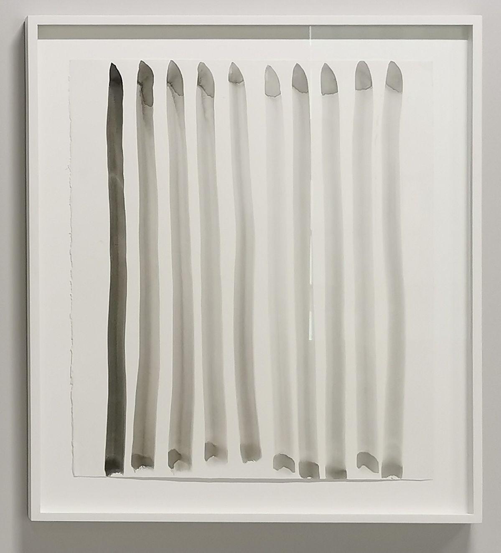 Pierrette Bloch - Sans titre, 2008 - Encre noire et lavis sur papier - Une Saison Contemporaine au Musée Fabre
