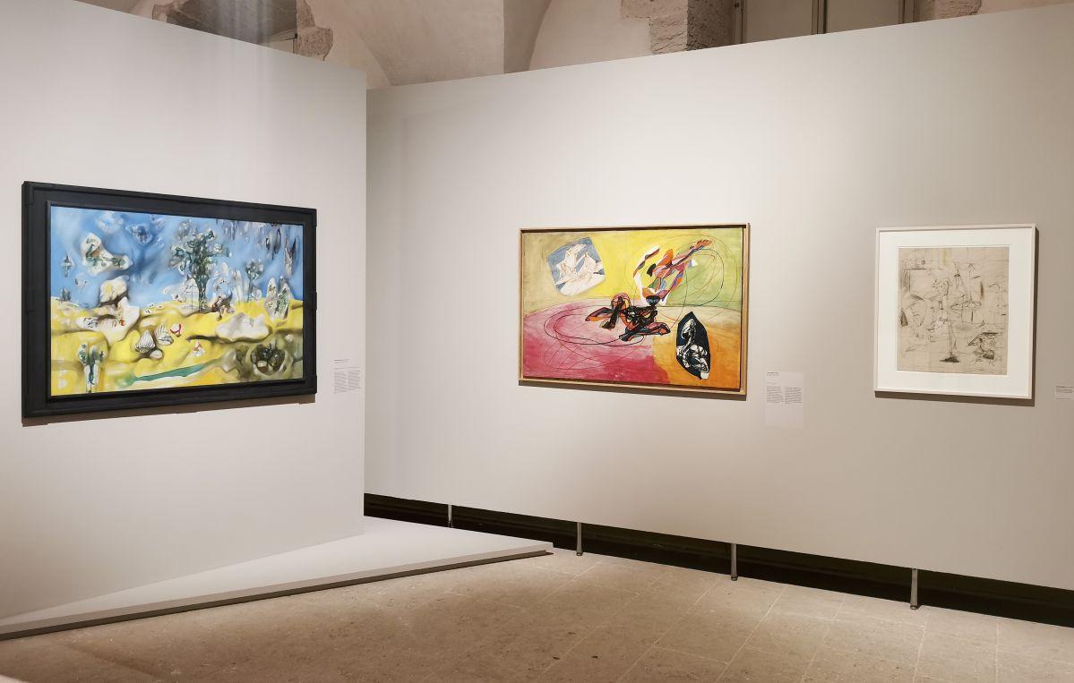 Surréalisme transatlantique - l'abstraction (1940-1955) - Le surréalisme dans l'art américain à la Vieille Charité