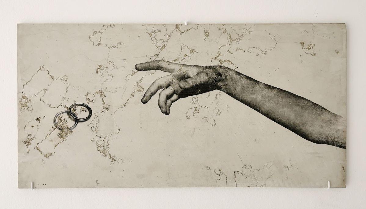Alice Guittard - Les anneaux, 2018 - échec — plaisir à la Double V Gallery, Marseille