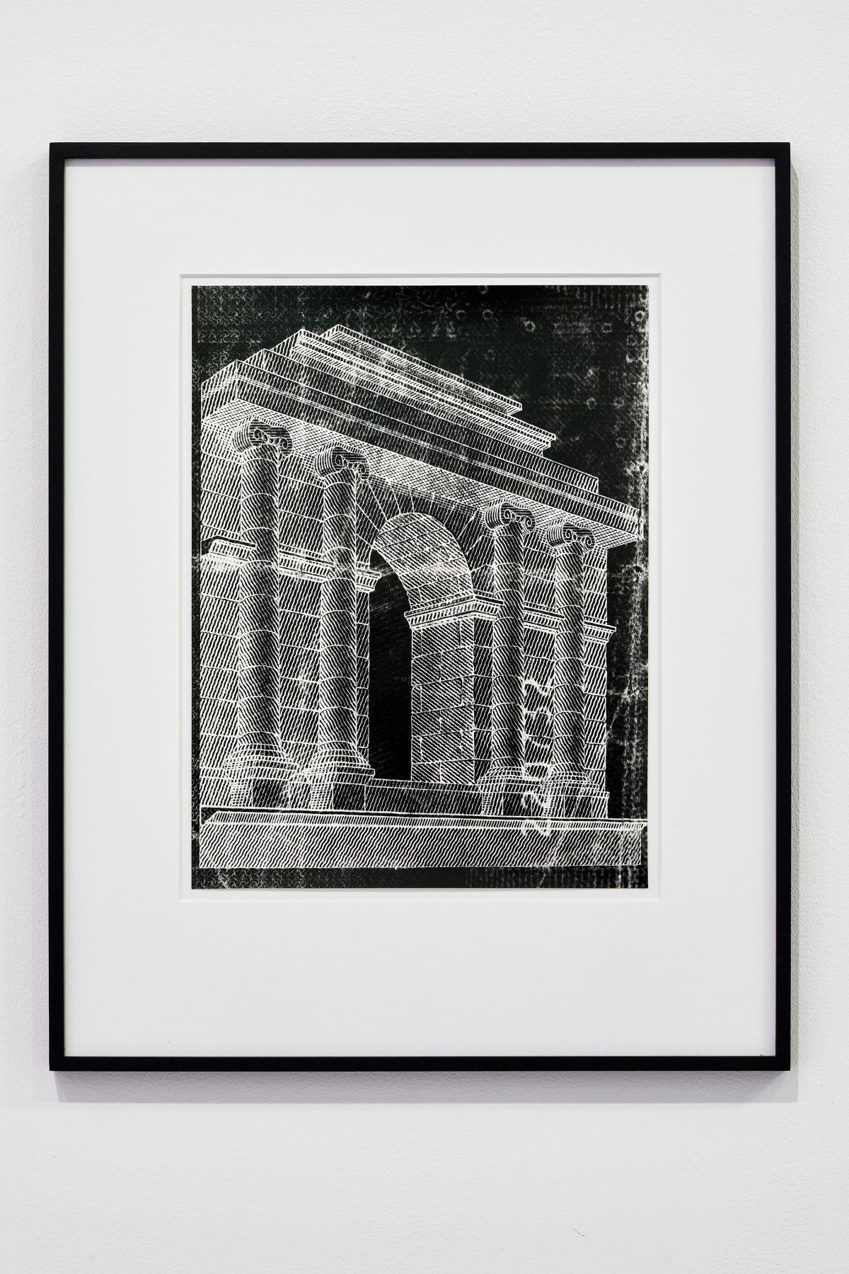 Gilles Pourtier - In gate we trust #5, 2021 - Rodéo Sauvage au Château de Servières ®Jean-Christophe Lett