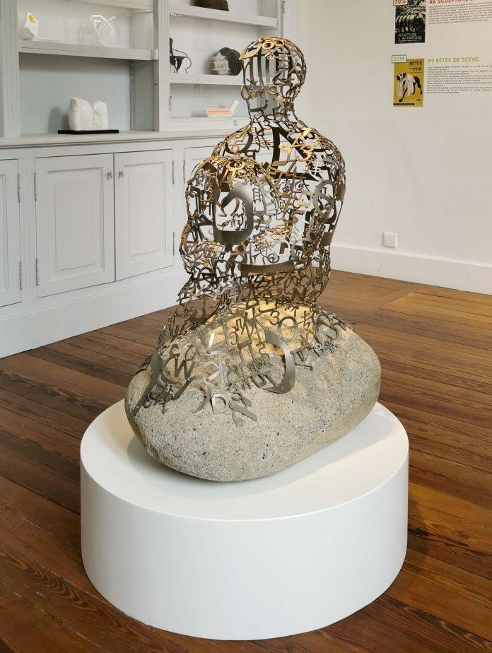 Jaume Plensa - NestIII, 2012 - Sculpture en fête ! Les dix ans de la Collection Villa Datris
