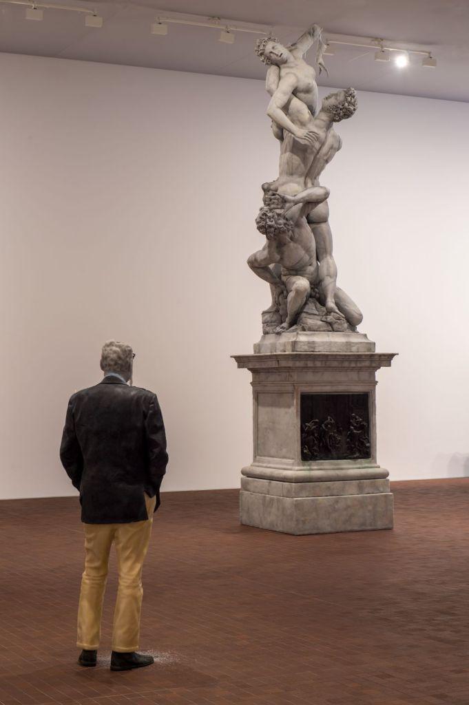 Urs Fischer - Sans titre (l'Enlèvement des Sabines), 2011 - The Impermanent Display , Collection Maja Hoffmann - Luma Arles 2021 © Marc Domage