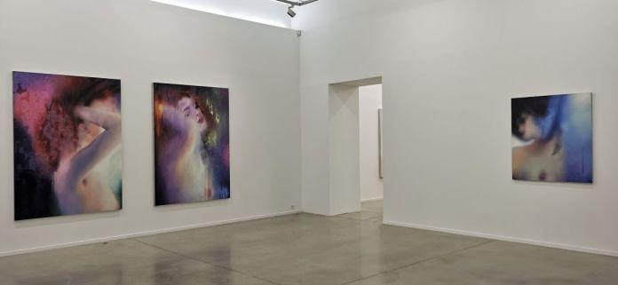 Marilyn Minter - Série Bathers [Baigneuses] - Vue de l'exposition All Wet au MOCO Panacée