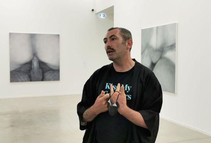 Vincent Honoré - Betty Tompkins - Raw Material au MOCO Panacée