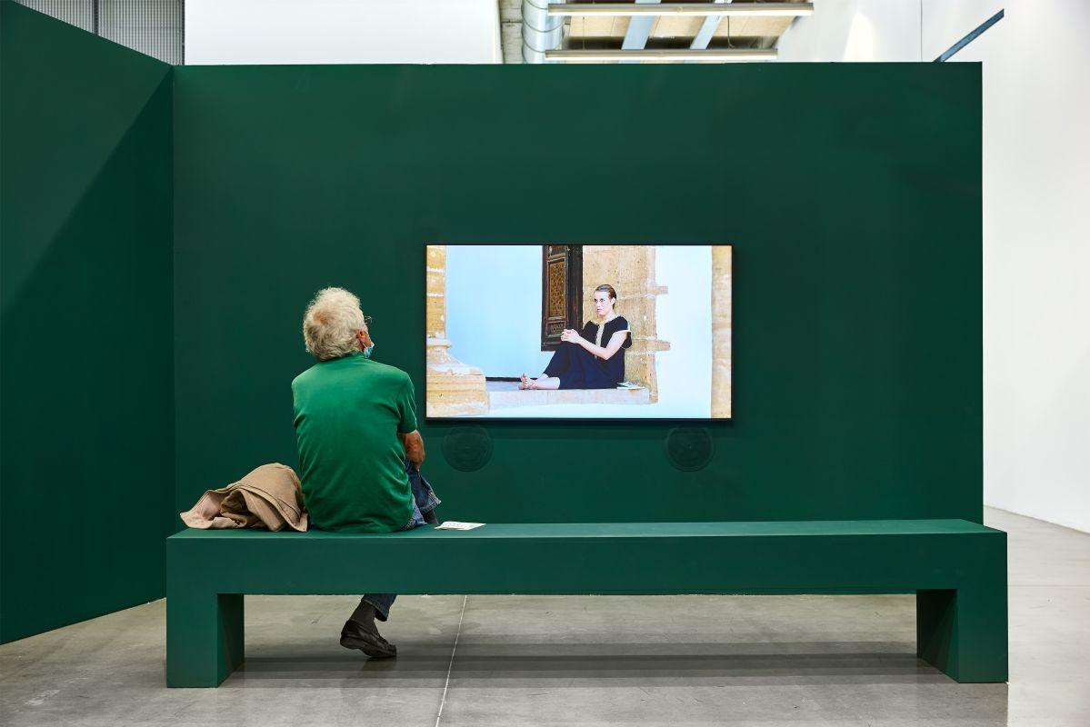 Katia Kameli - Stream of Stories - exposition «Elle a allumé le vif du passé» © Photo Frac Provence-Alpes-Côte d'Azur Laurent Lecat