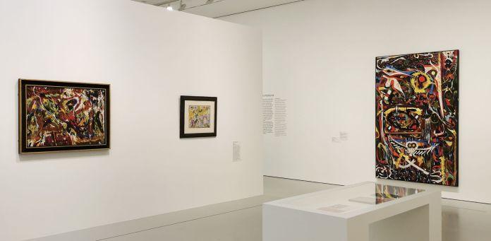United States of Abstraction - Les autres de l'« Art Autre » - Michel Tapié et l'Art Américain - Ossorio, Dubuffet, Tapié au Musée Fabre