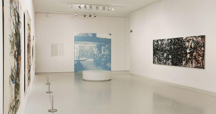United States of Abstraction - Paris est une île - l'abstraction géographique - Joan Mitchell et la France Fabre