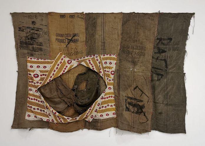 Ibrahim Mahama - Rafia EB X, 2016 - Distance critique - Cosmogonies - Zinsou, une collection africaine au MOCO-Hôtel des collections