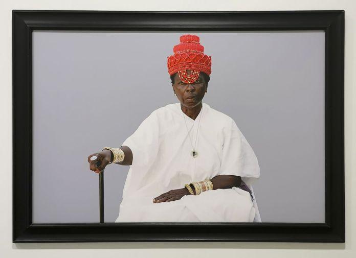 Ishola Akpo - projet AGBARA Women serie, Lyami (la mère en yoruba), 2020 - Identité et Mémoire - Cosmogonies - Zinsou, une collection africaine au MOCO-Hôtel des collections