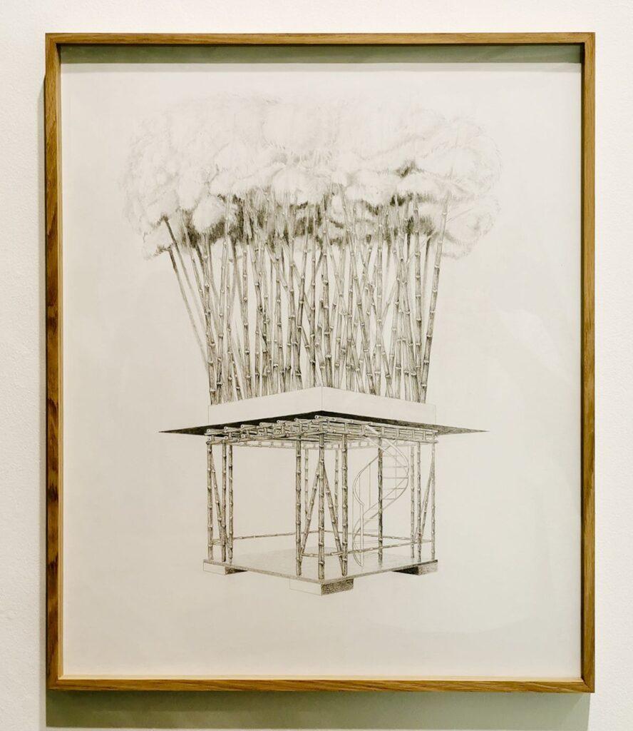 Olivier Nattes Multiples pour rue, série Architectures autogénératives et symbiotiques, 2021 - «Être monde» au Frac Provence-Alpes-Côte d'Azur
