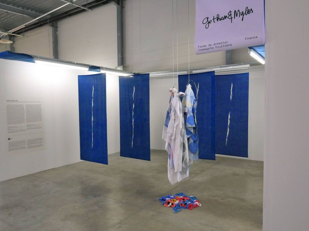 gethan&myles - The Want Machine - Art-o-rama 2021 à la Friche la Belle de Mai. Photo ©gethan&myles