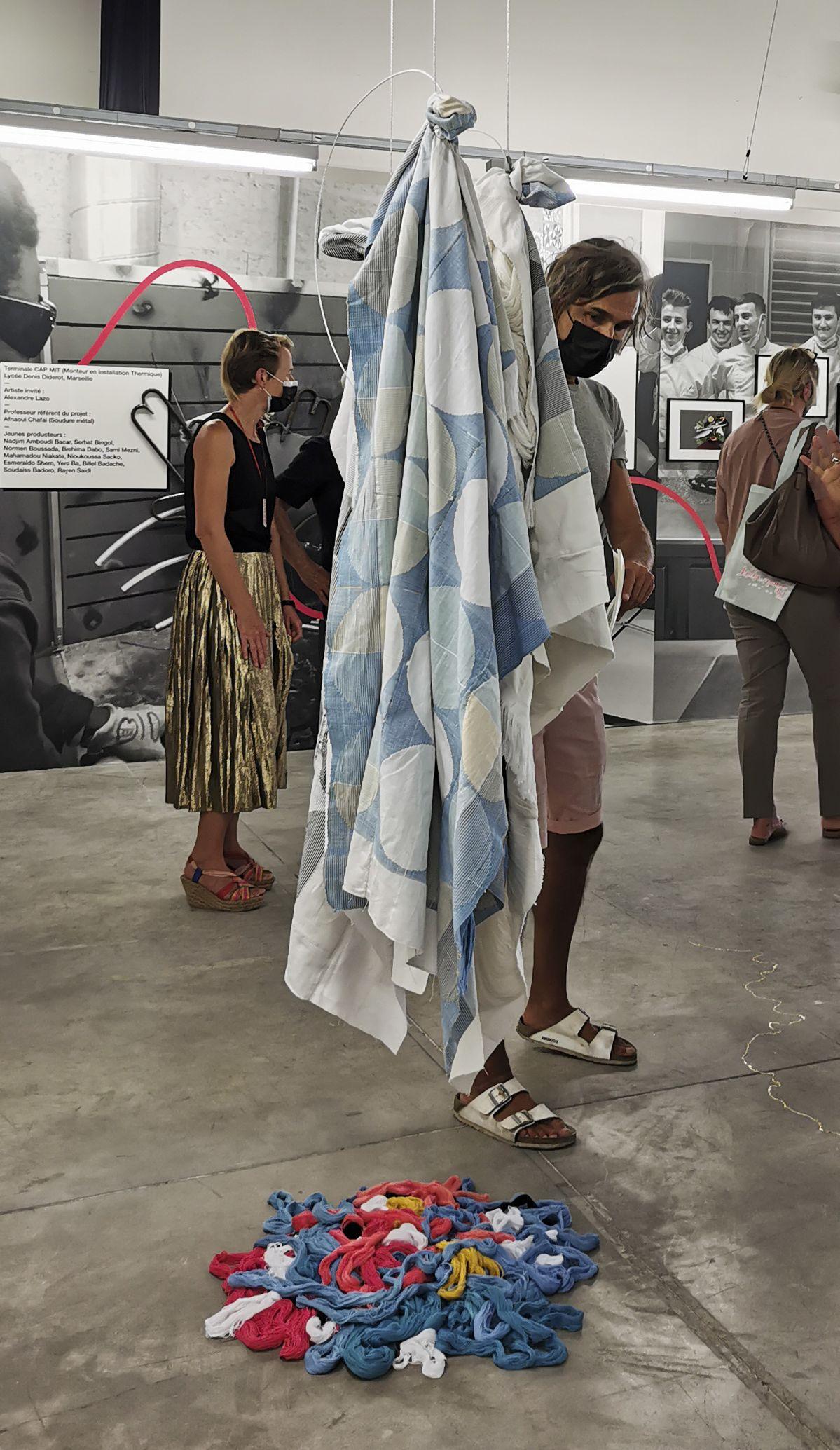 gethan&myles raconte - The Want Machine - Art-o-rama 2021 à La friche la Belle de Mai
