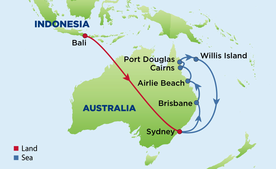 Journey to bali sydney and the east coast of australia enrichment australia and bali appear on many bucket list and this itinerary will check off the best of both places you will start your journey with four days gumiabroncs Image collections