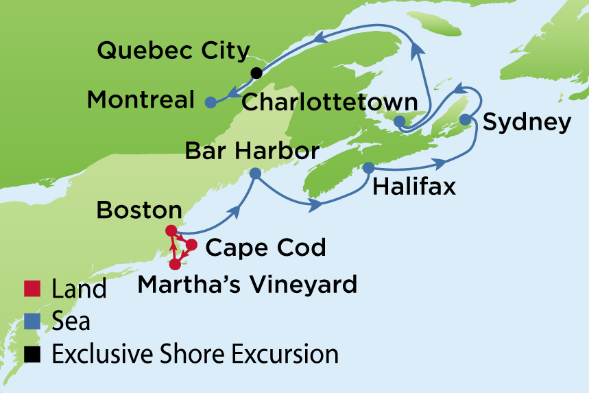 Journey To Cape Cod Marthas Vineyard And Quebec Enrichment Journeys