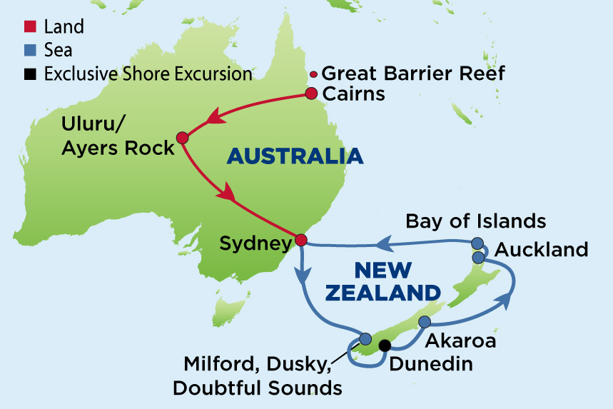 ej to australian outback and nz