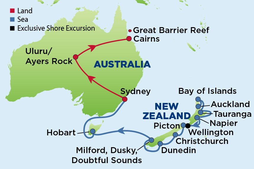 Journey to New Zealand & the Australian Outback