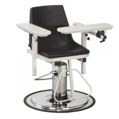 Adjustable Height Chairs Reception Room Phlebotomy Stands Clinton 6330 P Blood Drawing Chair With Clintonclean Arms