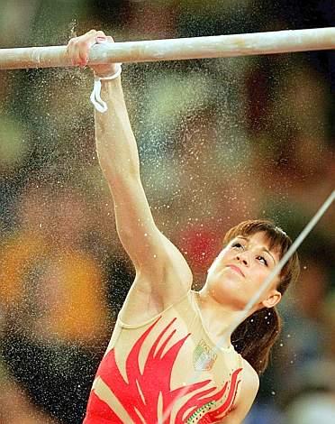 Il gesto atletico di Vanessa Ferrari