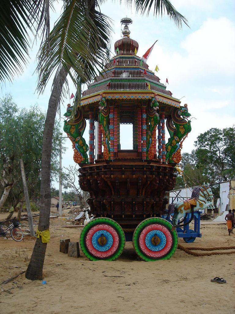 Tempelvogn, Sri Lanka