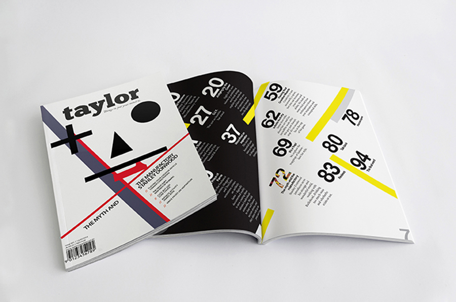Taylor Magazine Editorial