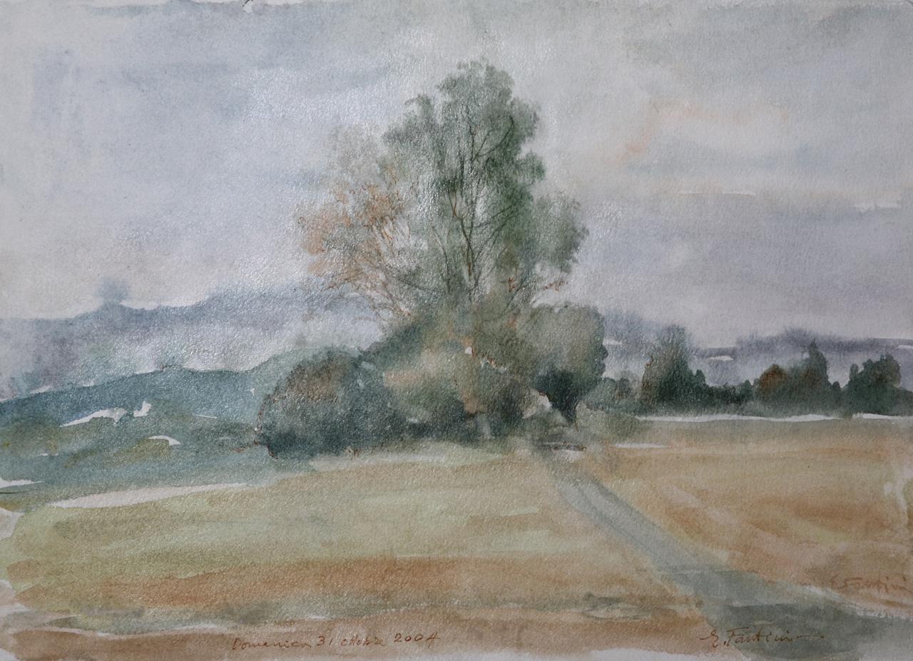 Acquerellisti italiani Enrico Fantini  acquerelli