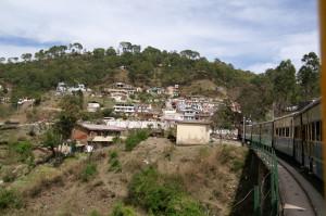 Paesino sulla linea Kalka Shimla