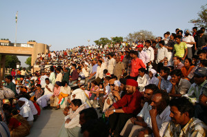 indiani alla cerimonia