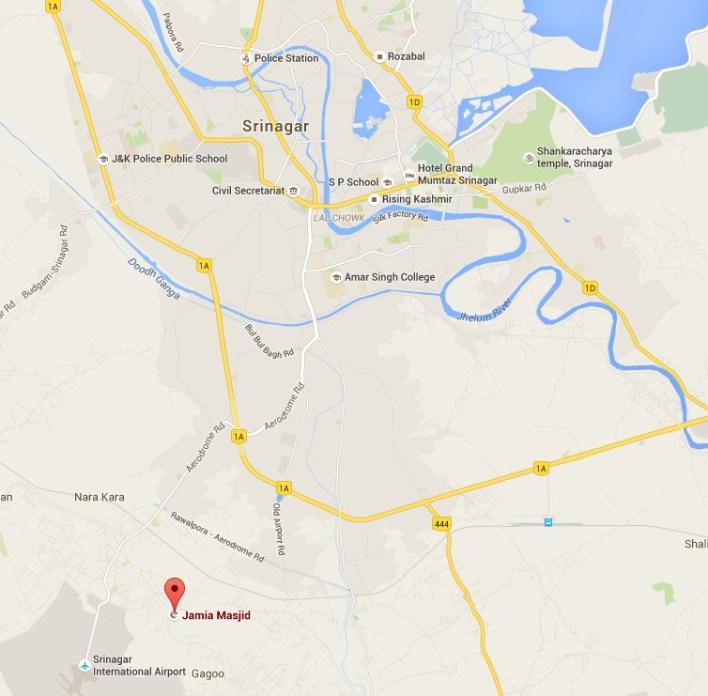 Mappa Srinagar
