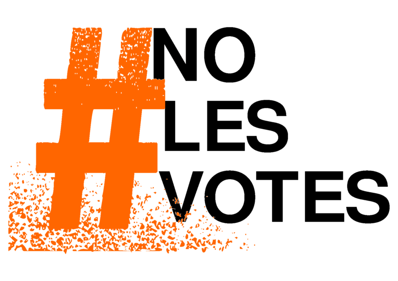 Quedan 50 días #nolesvotes