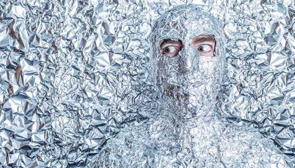 Tinfoil wrapped (IMAGE: Gratisography)