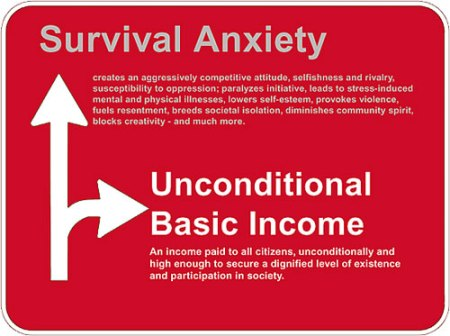 Basic income and survival anxiety