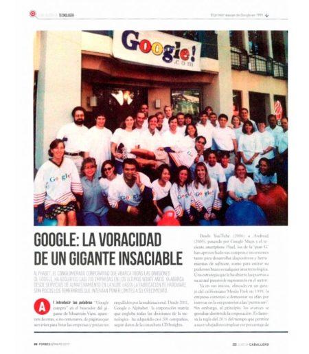 Google: la voracidad de un gigante insaciable - Forbes