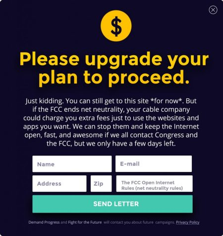 JULY 12TH: INTERNET-WIDE DAY OF ACTION TO SAVE NET NEUTRALITY