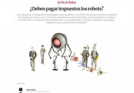 ¿Deben pagar impuestos los robots? - La Voz de Galicia