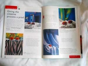 International Artist Magazine. Article about Enriquillo Amiama