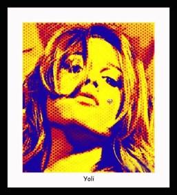 Yoli. Digital art by Enriquillo Amiama